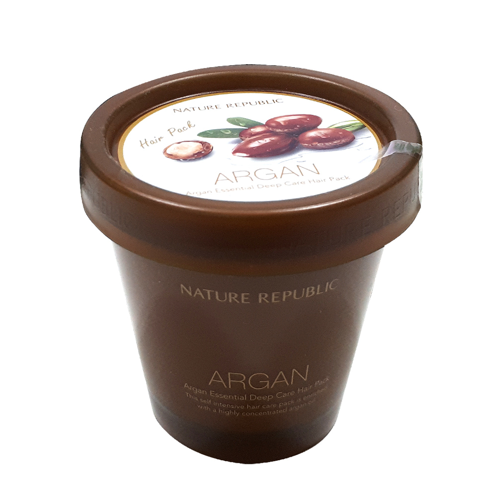 NATURE REPUBLIC Argan Essential Deep Care Hair Pack 200ml