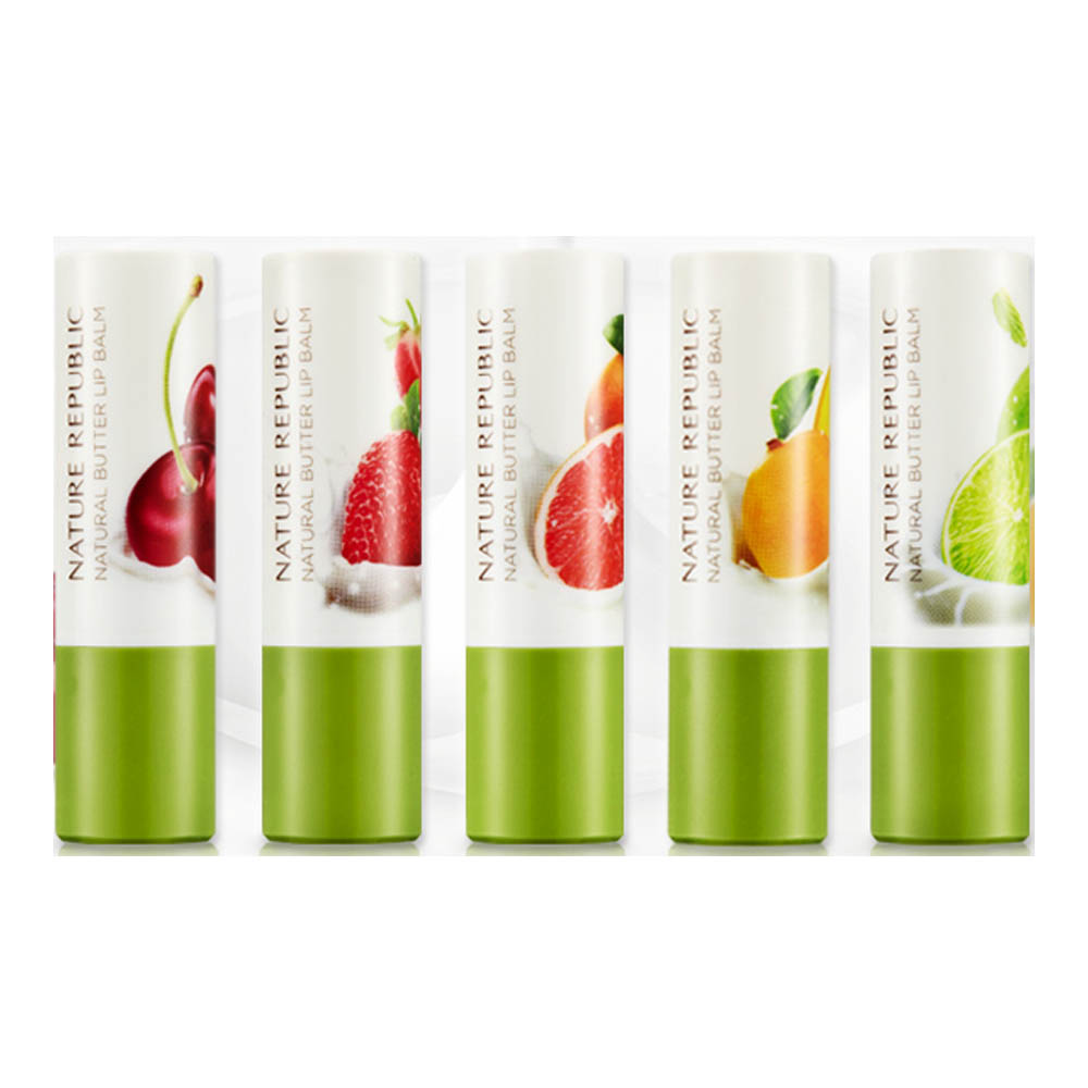 Nature Republic Natural Butter Lip Balm 4g