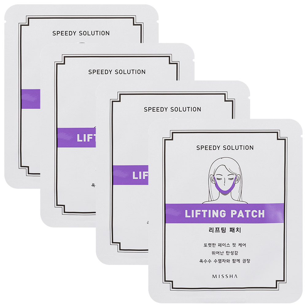 MISSHA Speedy Solution Lifting Patch *4pcs