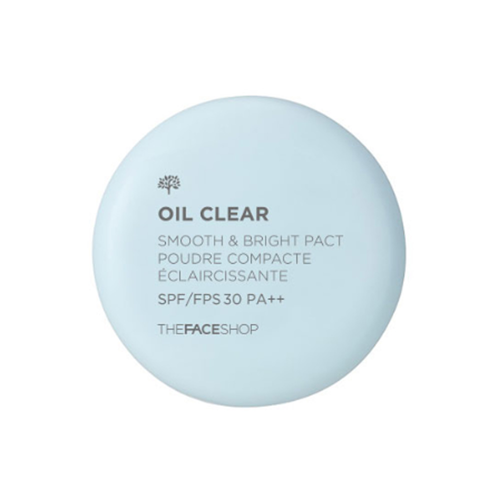 THE FACE SHOP Oil Clear Smooth & Bright Pact SPF30 PA++ 9g