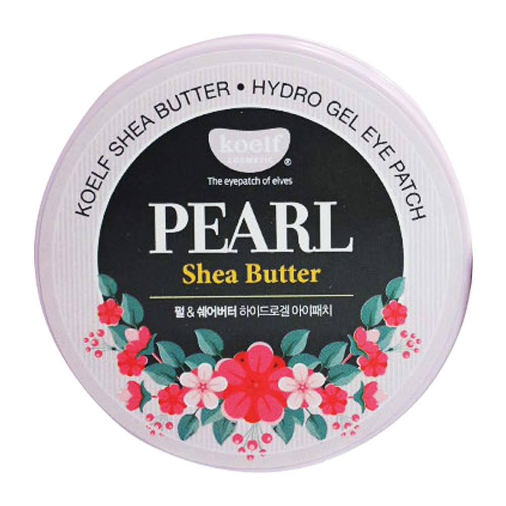 PETITFEE Koelf Pearl & Shea Butter Hydro Gel Eye Patch 60ea