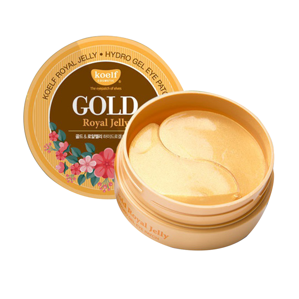 PETITFEE Koelf Gold & Royal Jelly Hydro Gel Eye Patch 60ea
