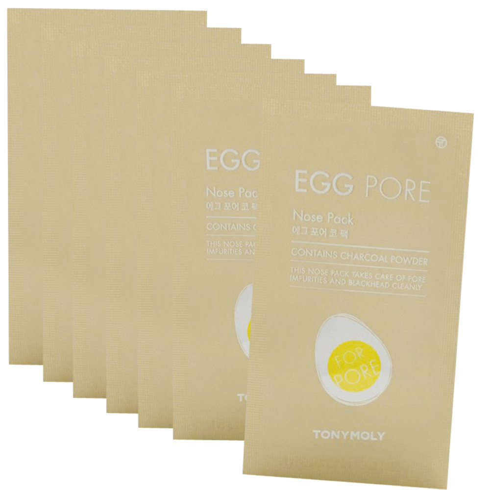 TONYMOLY Egg Pore Nose Pack 7 Sheets
