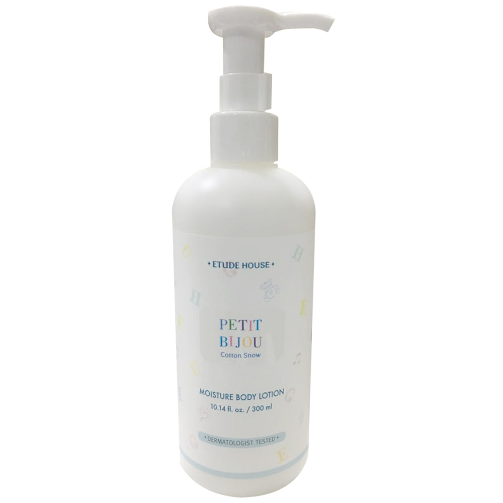 Etude House Petit Bijou Cotton Snow Moisture Body Lotion 300ml