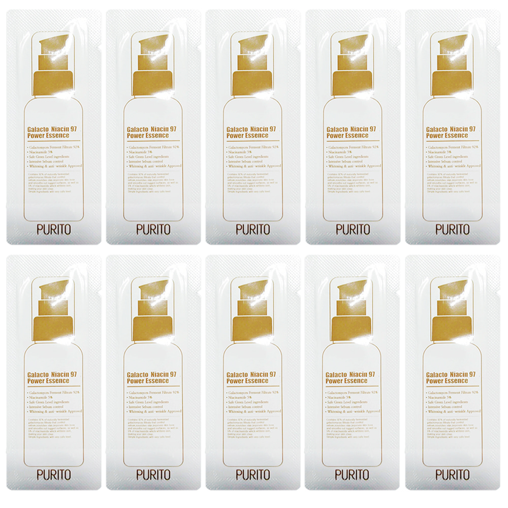 PURITO Galacto Niacin 97 Power Essence Sample 10ea