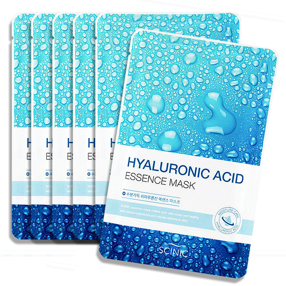 Scinic Hyaluronic Acid Essence Mask 6pcs