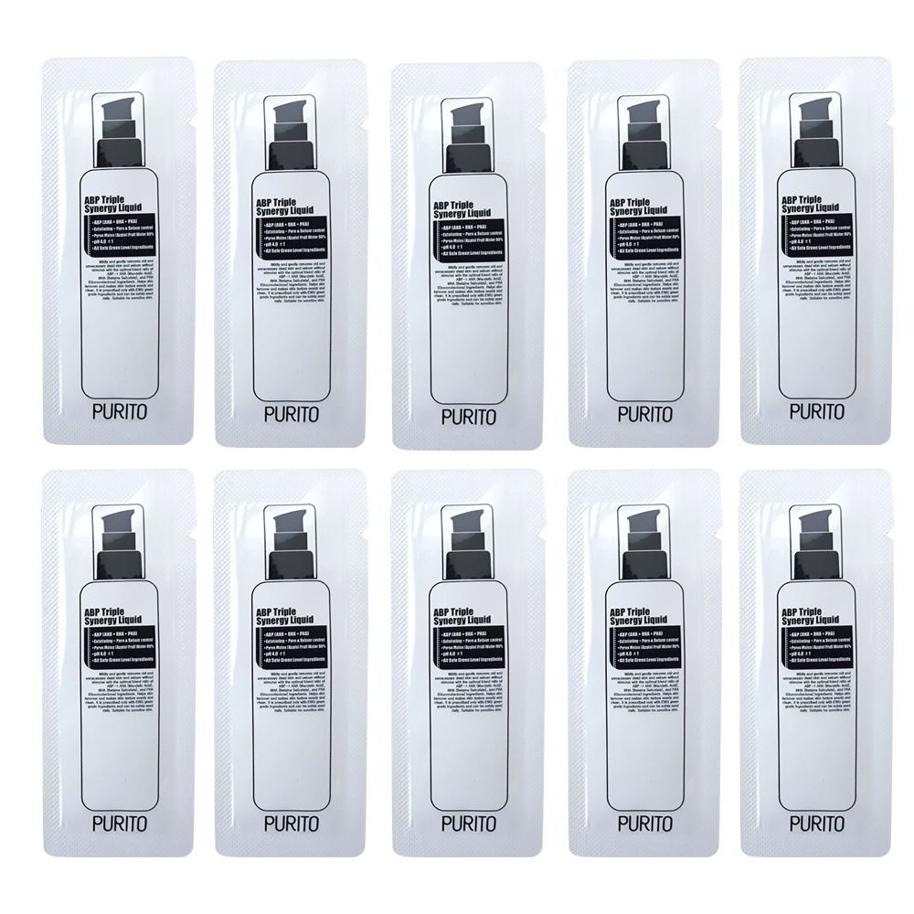 PURITO ABP Triple Synergy Liquid Sample 10pcs