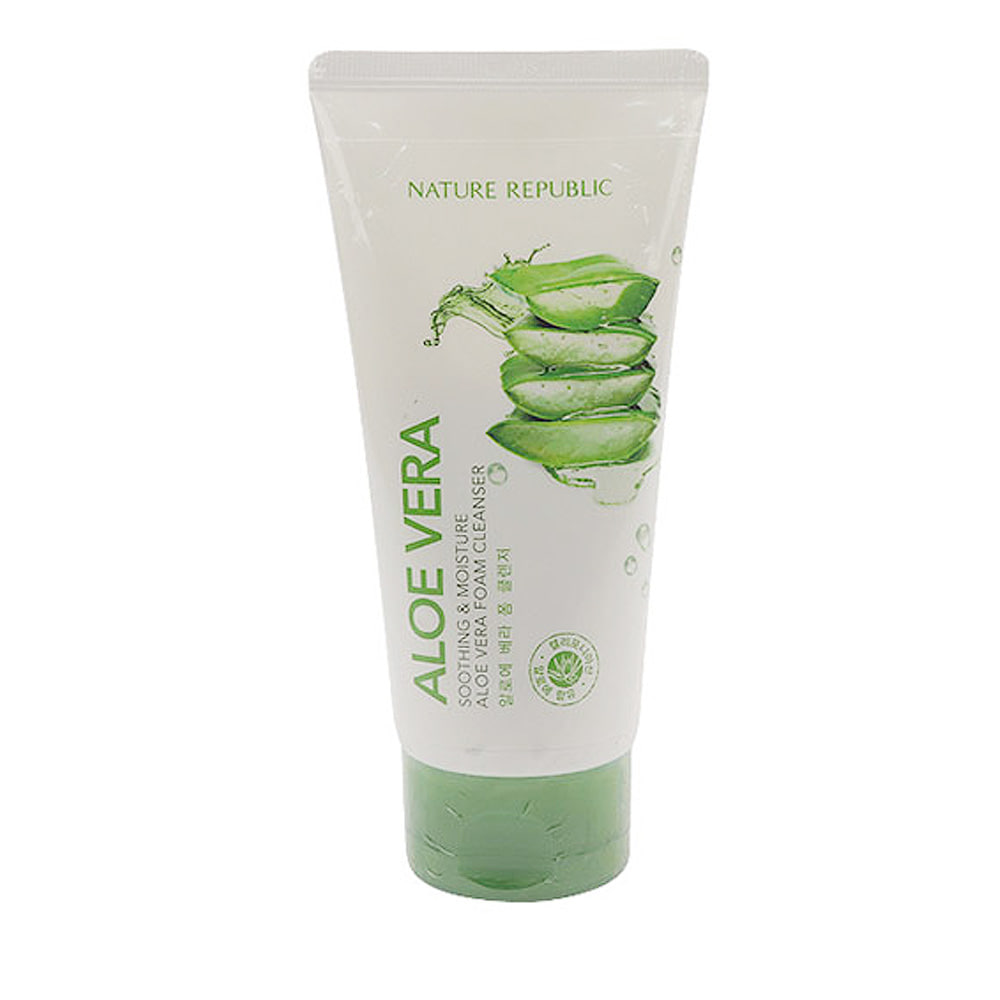 Nature Republic Soothing & Moisture Aloe Vera Foam Cleanser Renewal 150ml