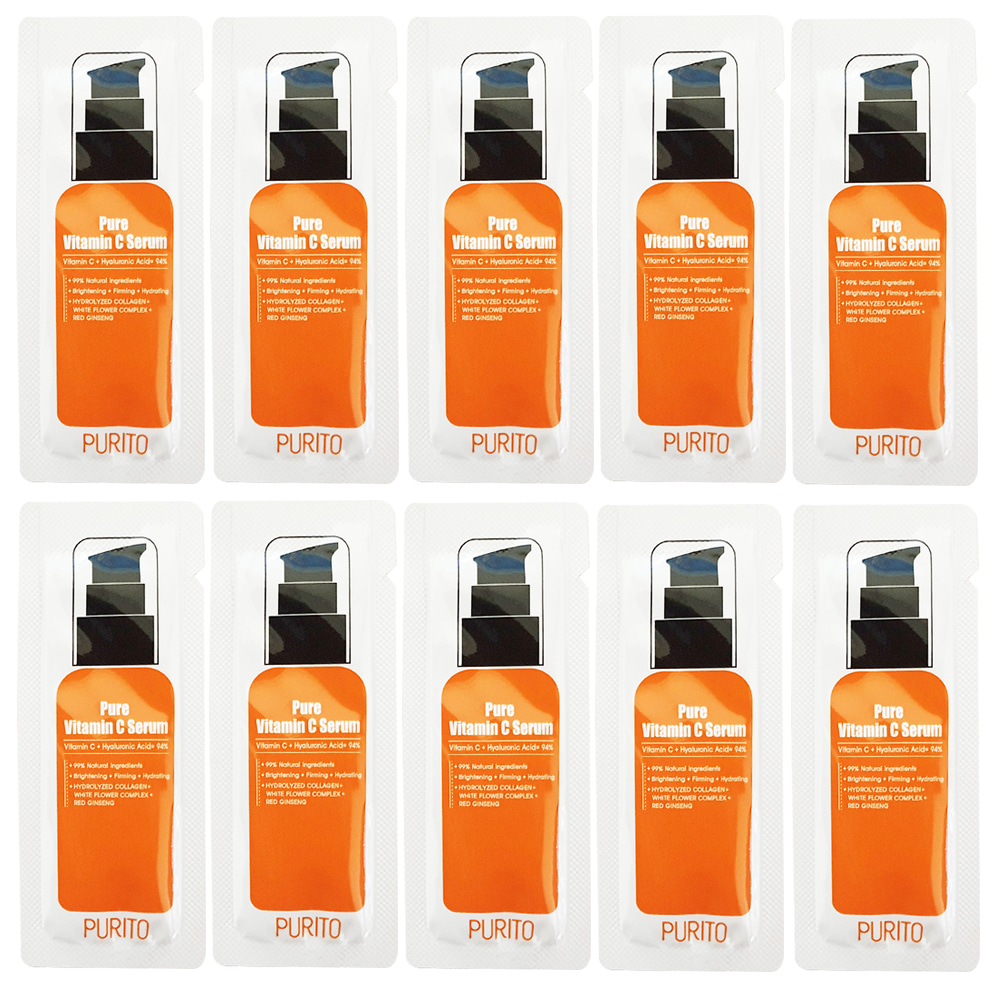 PURITO Pure Vitamin C Serum Sample 10pcs