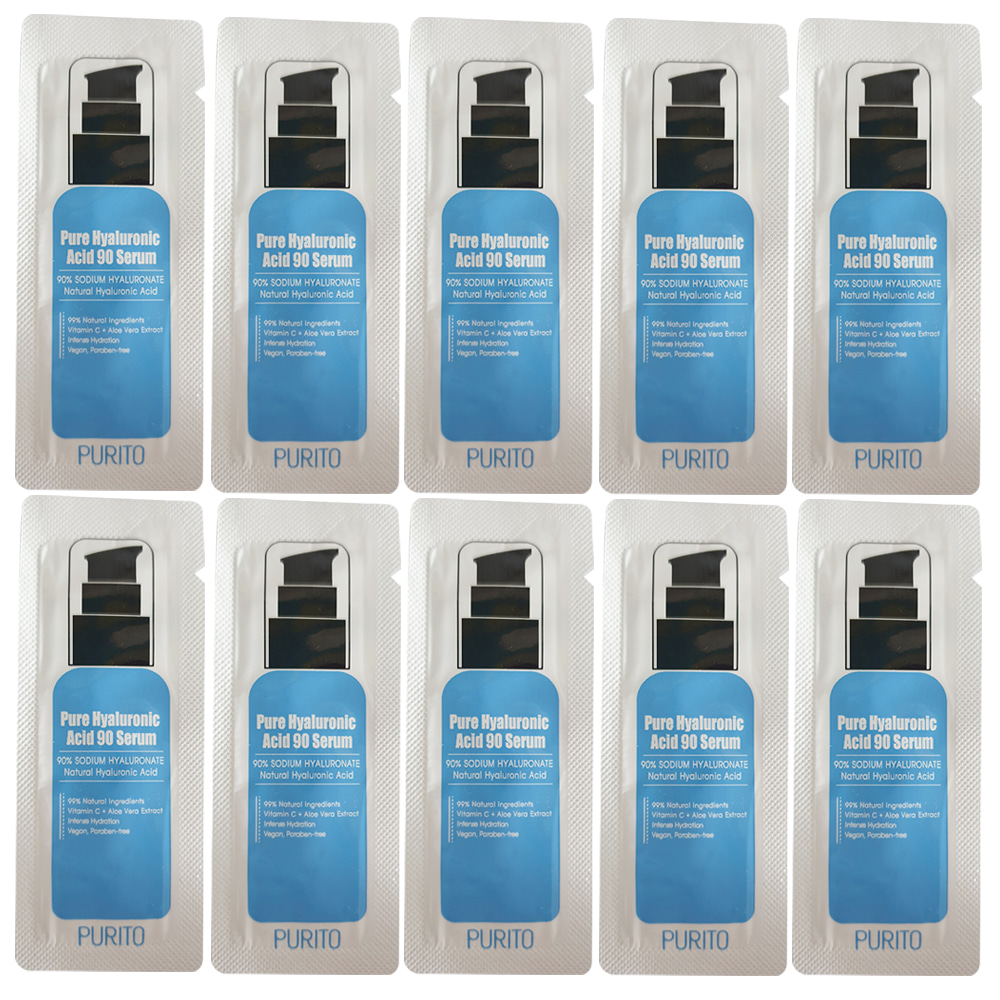 PURITO Hyaluronic ACID 90 Serum Sample 10pcs