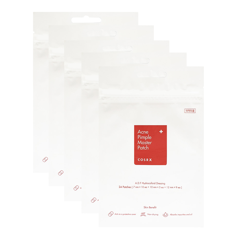 COSRX Acne Pimple Master Patches(24 Patches) 5 Sheets