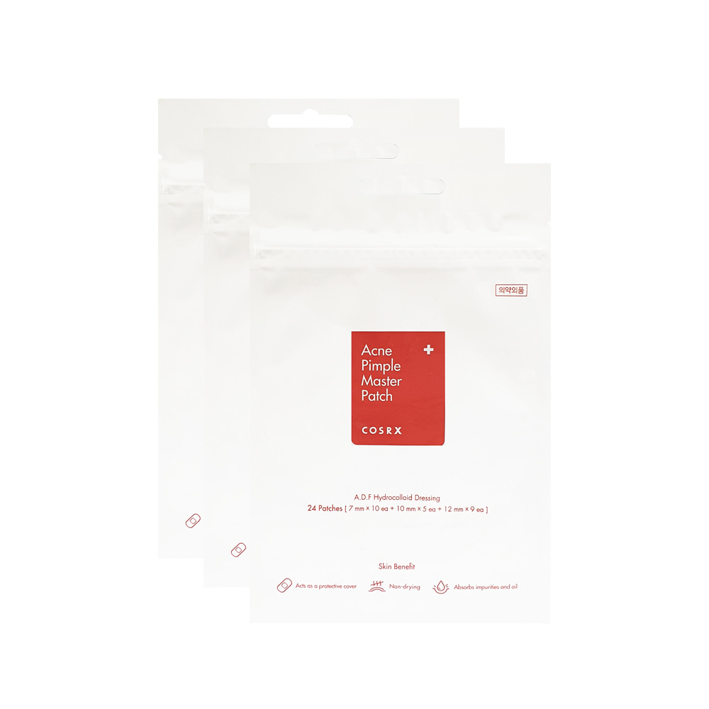 COSRX Acne Pimple Master Patches(24 Patches) 3 Sheets
