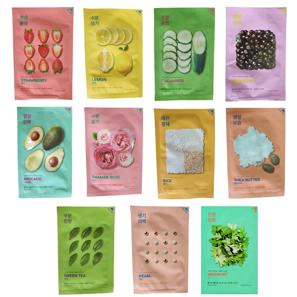 Holika Holika Pure Essence Mask Sheet 20ml * 3pcs