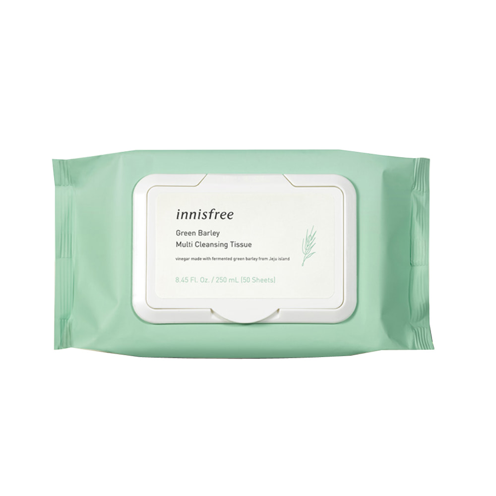 Innisfree Green Barley Cleansing Tissue 50Sheets(250g)