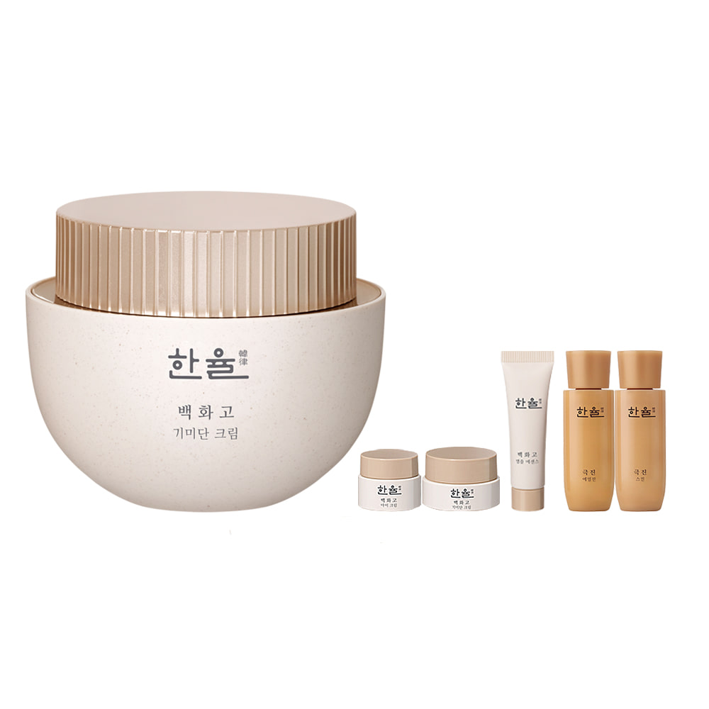 Hanyul Baek Hwa Goh Anti-Aging Cream Set (6 items)