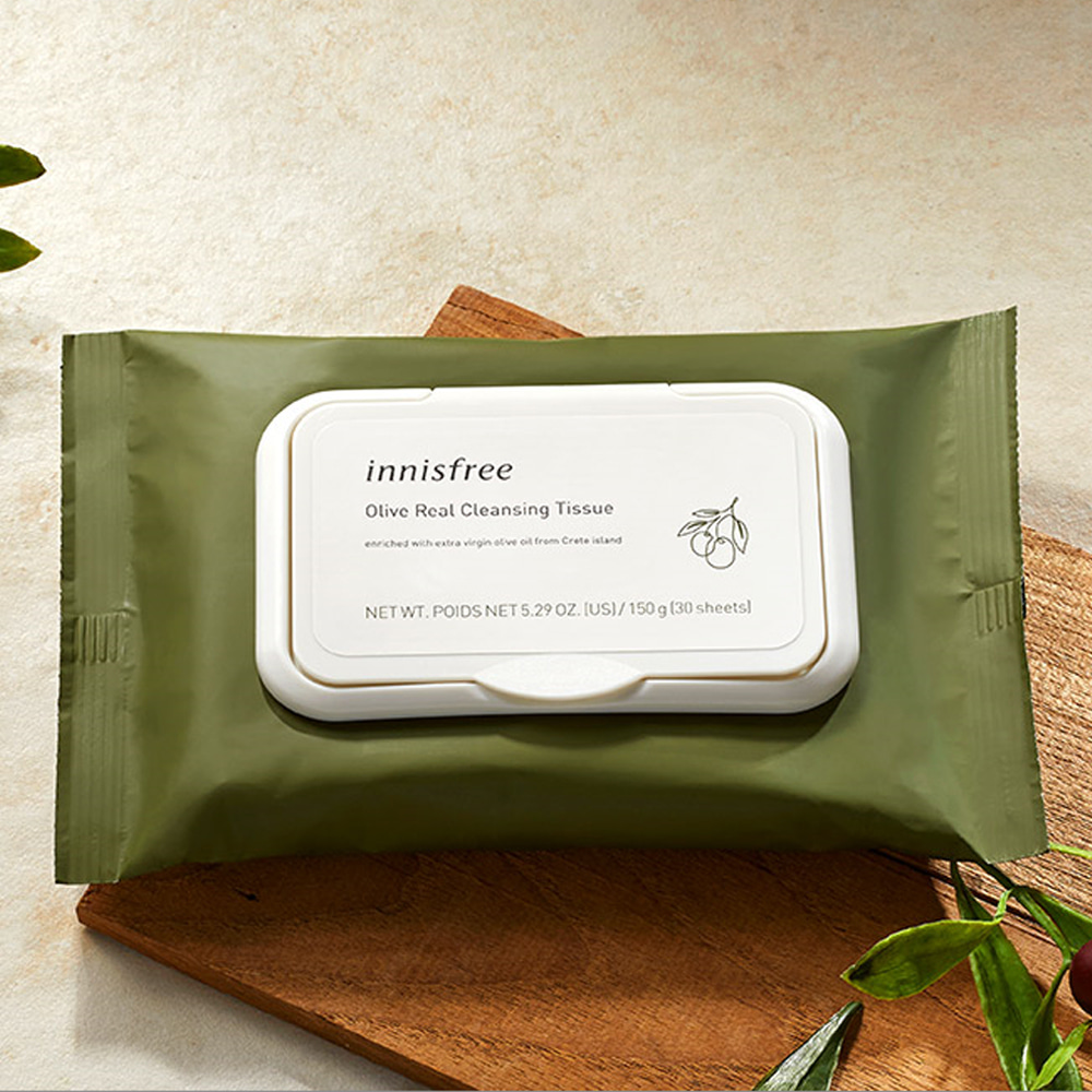 Innisfree Olive Real Cleansing Tissue 30ea Renewal