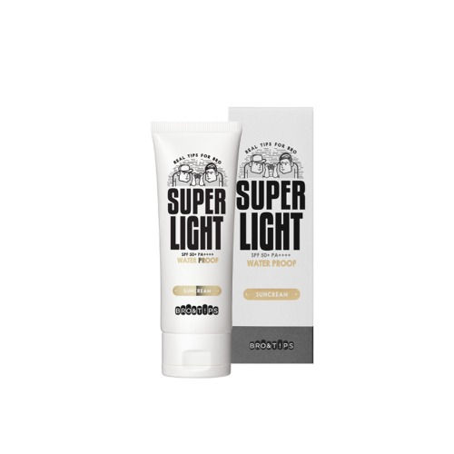 BRO&TIPS Super Light Water Proof Sun Cream SPF50+ PA++++ 70ml