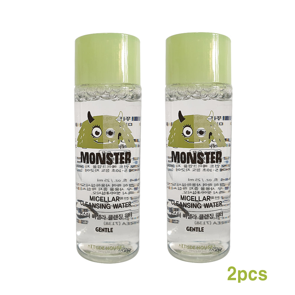 Etude House MONSTER Micellar Cleansing Water Sample 25ml (2pcs)