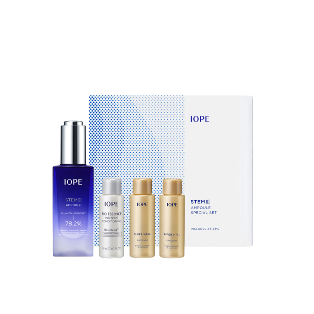 IOPE STEMⅢ Ampoule Special Set (4 items)