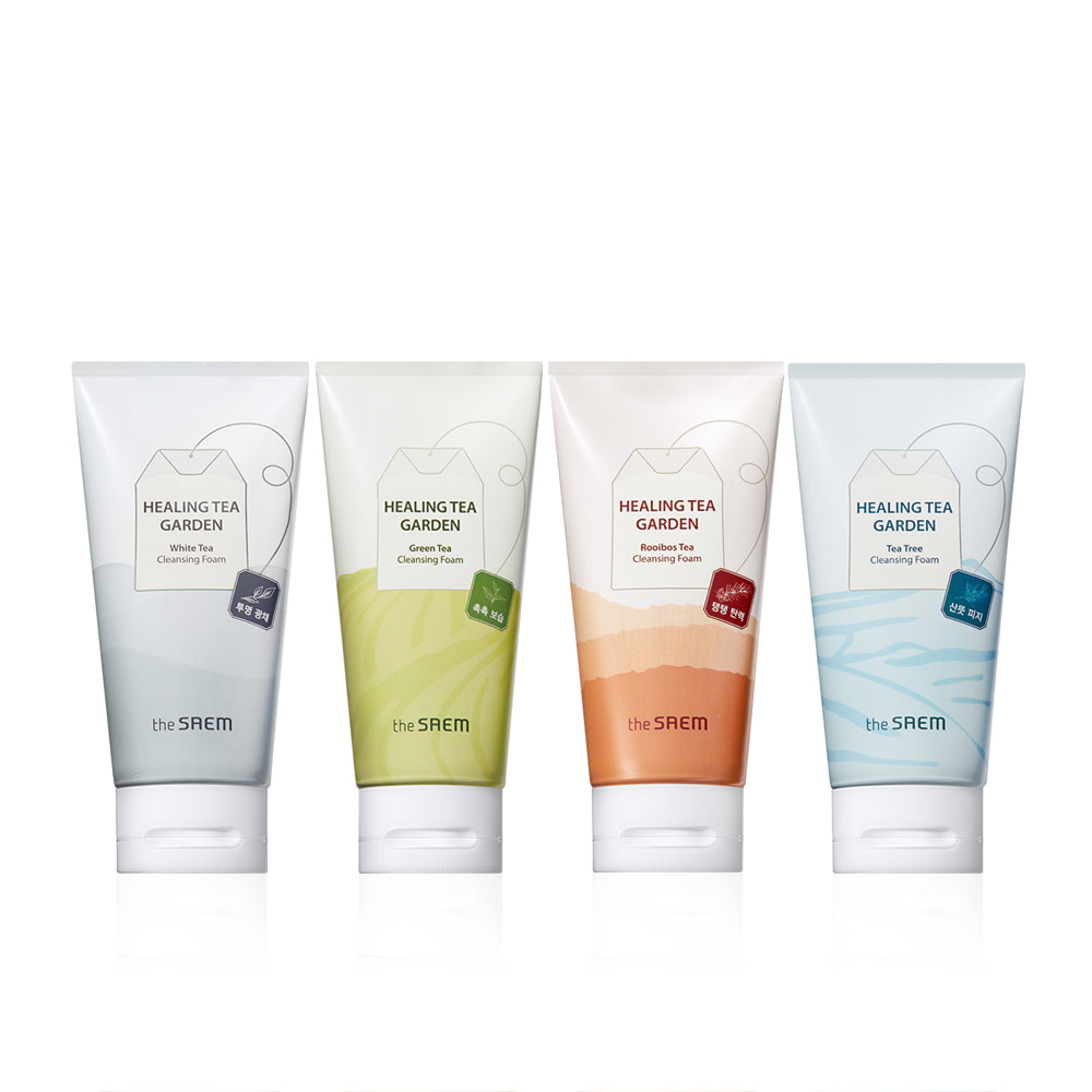 THESAEM-The Saem Healing Tea Garden Cleansing Foam 150ml