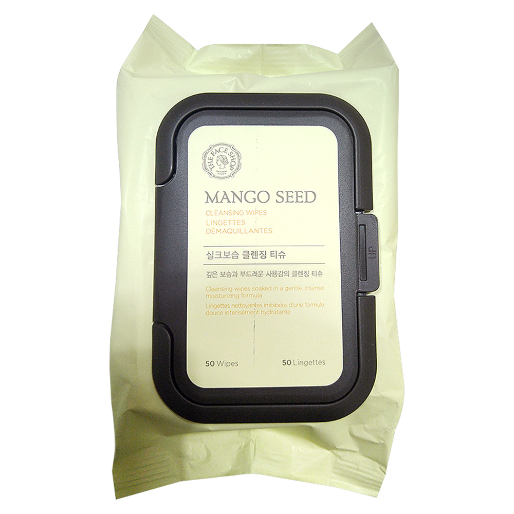 The Face Shop Mango Seed Cleansing Tissue 50 sheets