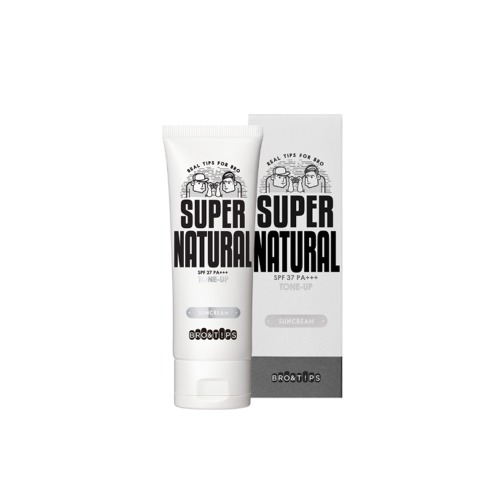 BRO&TIPS Super Natural Tone Up Sun Cream SPF37 PA+++ 70ml