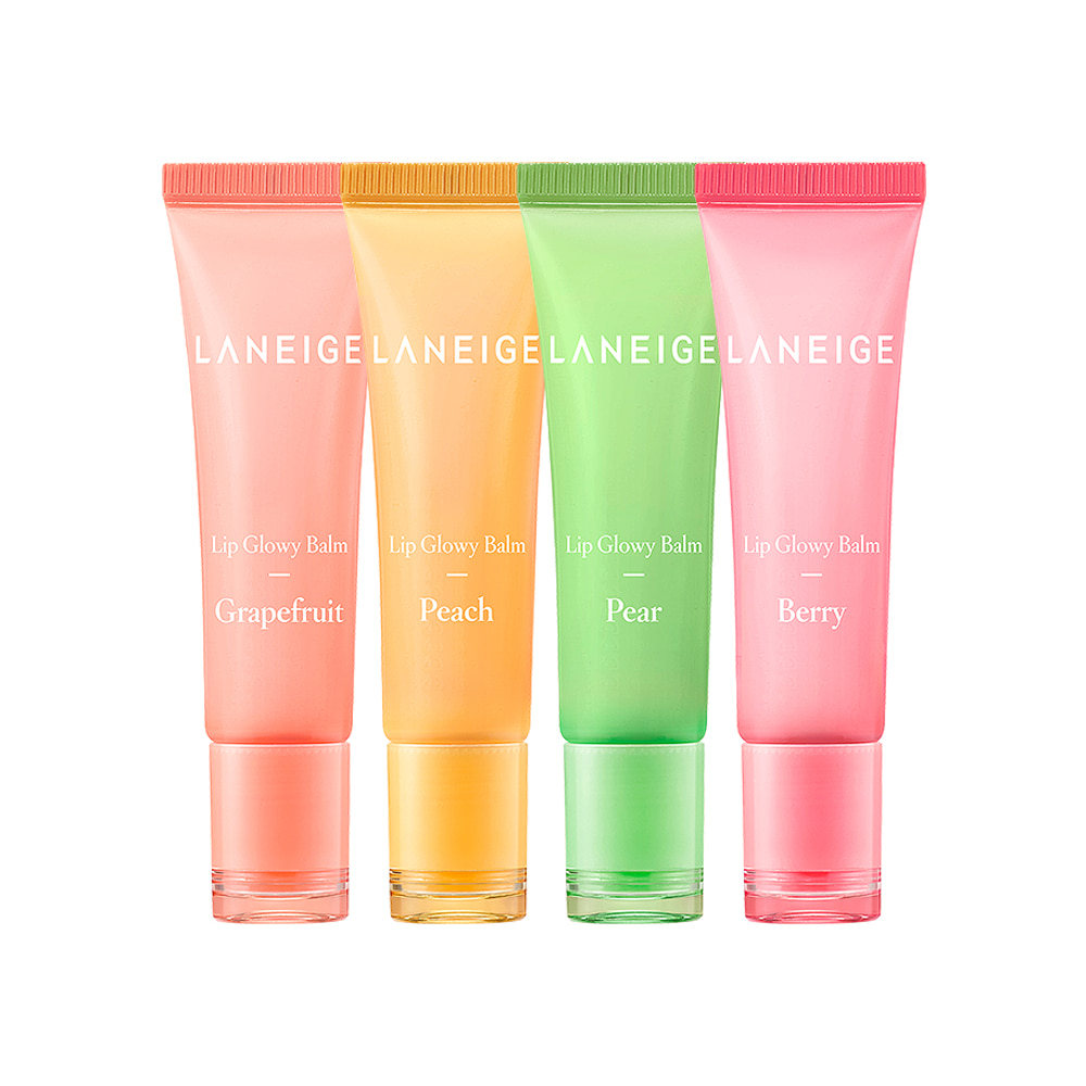 LANEIGE Lip Glowy Balm 10g 1+1 2pcs (4 type)