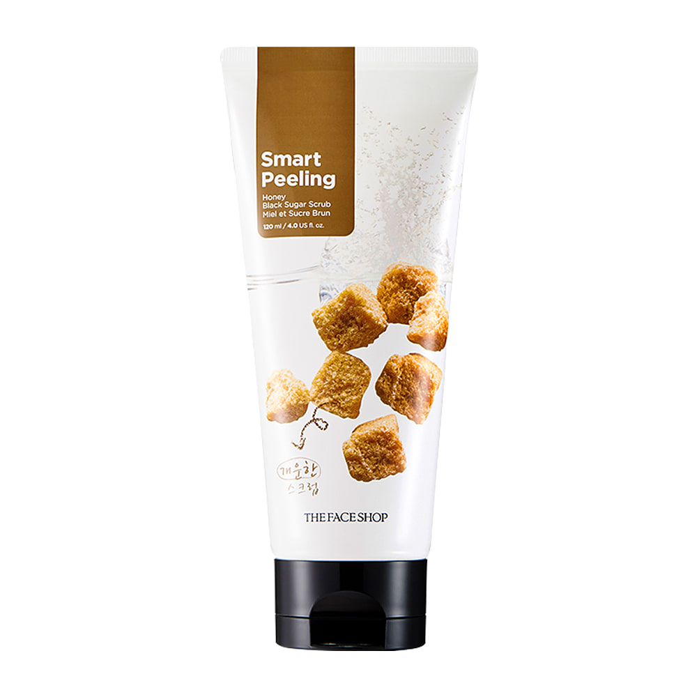 THE FACE SHOP Smart Peeling Honey Black Suger Scrub 120ml