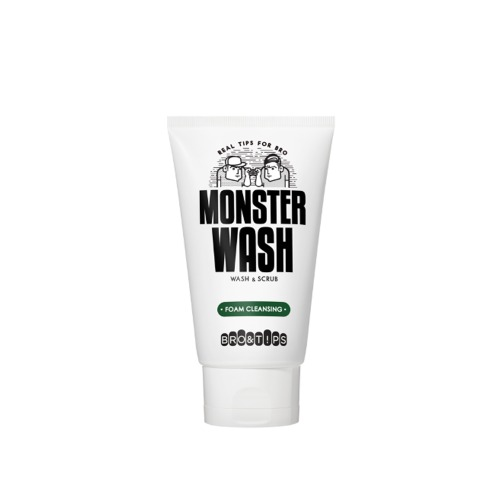 BRO&TIPS Monster Wash Foam Cleansing 120ml