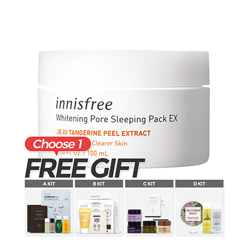 Innisfree Whitening Pore Sleeping Pack 100ml Renewal