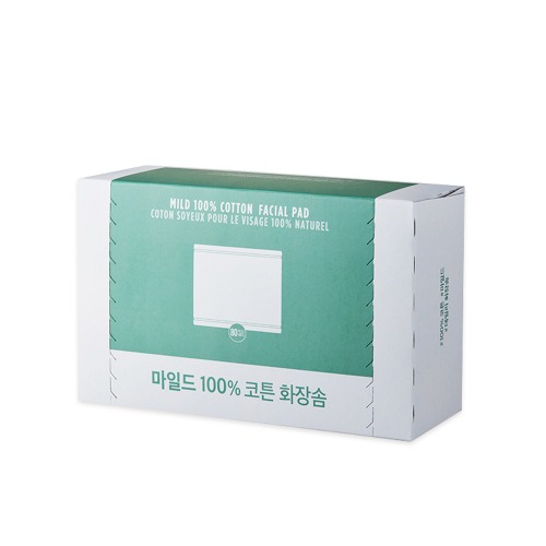 The Face Shop Daily Mild Cotton Pads 80sheets