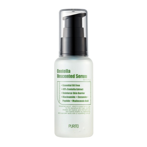 PURITO Centella Unscented Serum 60ml / 2 fl.oz  EWG, Vegan