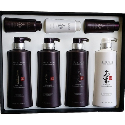 Daeng Gi Meo Ri Ki-Gold Premium Shampoo 500ml 3ea + Conditioner 500ml